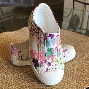 Native Jefferson Floral Print Sandal Shoes 11